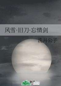 風雪·舊刀·忘情劍